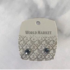 💛 3for15 Pave Crystal Rhinestone Stud Earrings